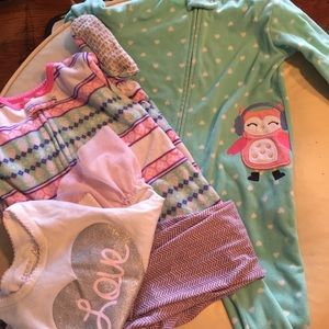 Three pair of pajama bundle